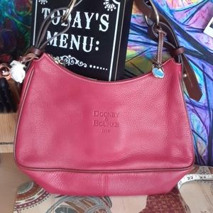 D & B RED LARGE HOBO